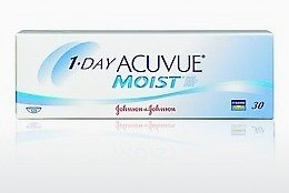कॉन्टैक्ट लेंस Johnson & Johnson 1 DAY ACUVUE MOIST 1DM-90P-REV
