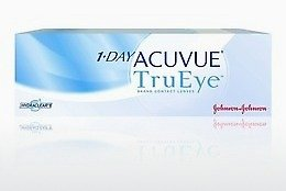 कॉन्टैक्ट लेंस Johnson & Johnson 1 DAY ACUVUE TruEye 1D4-90P-REV
