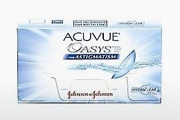 कॉन्टैक्ट लेंस Johnson & Johnson ACUVUE ADVANCE for ASTIGMATISM AGT-6P-REV