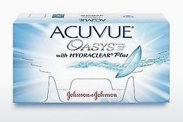 कॉन्टैक्ट लेंस Johnson & Johnson ACUVUE OASYS with HYDRACLEAR Plus PH-6P-REV