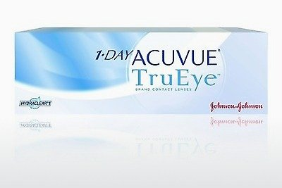 Contact Lenses Johnson & Johnson 1 DAY ACUVUE TruEye 1D4-90P-REV