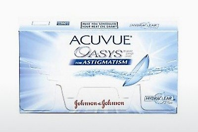 कॉन्टैक्ट लेंस Johnson & Johnson ACUVUE ADVANCE for ASTIGMATISM (ACUVUE ADVANCE for ASTIGMATISM AGT-6P-REV)