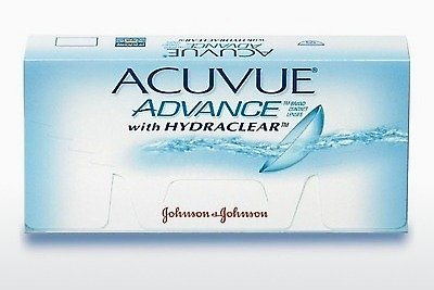कॉन्टैक्ट लेंस Johnson & Johnson ACUVUE ADVANCE with HYDRACLEAR AVG-6P-REV