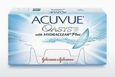 कॉन्टैक्ट लेंस Johnson & Johnson ACUVUE OASYS with HYDRACLEAR Plus PH-12P-REV