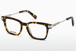 Eyewear Dsquared DQ5244 053 - Yellow, Brown, Havanna