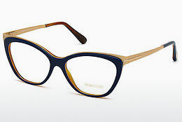 Eyewear Tom Ford FT5374 090 - Blue, Shiny