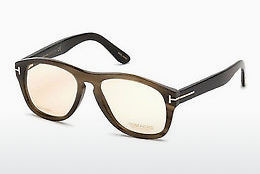 चश्मा Tom Ford FT5440-P 64E - हॉर्न, Horn, Brown