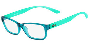 Lacoste L3803B 444 AQUA WITH PHOSPHO TEMPLES