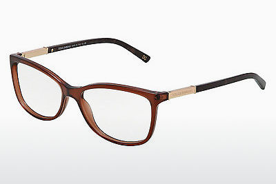 Eyewear Dolce & Gabbana LOGO PLAQUE (DG3107 2542) - Transparent, Brown