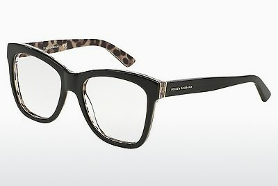 Eyewear Dolce & Gabbana ENCHANTED BEAUTIES (DG3212 2857) - Black, Leopard