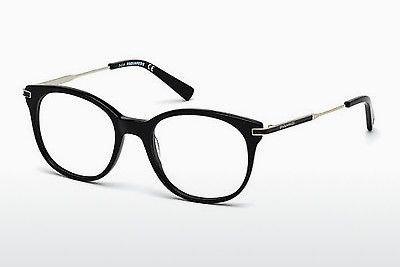 Eyewear Dsquared DQ5164 001 - Black, Shiny