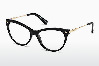 Eyewear Dsquared DQ5195 001 - Black, Shiny