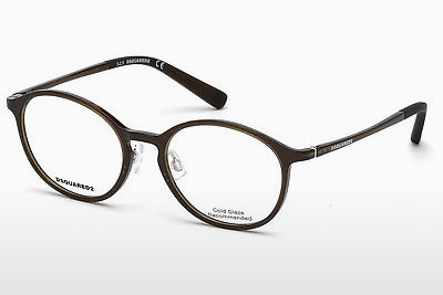Eyewear Dsquared DQ5219 045 - Brown, Bright, Shiny