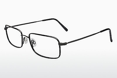 Eyewear Flexon 646 001 - Black, Chrome