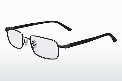 Eyewear Flexon 666 001 - Black, Chrome