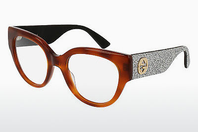 Eyewear Gucci GG0103O 004 - Brown, Havanna