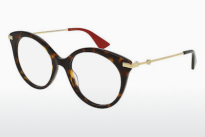 Eyewear Gucci GG0109O 002 - Brown, Havanna