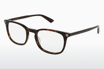 Eyewear Gucci GG0122O 002 - Brown, Havanna