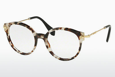 Eyewear Miu Miu MU 04PV UAO1O1 - White, Brown, Havanna