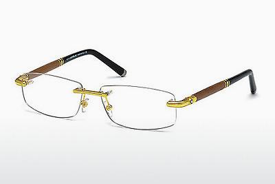 Eyewear Mont Blanc MB0491 030 - Yellow