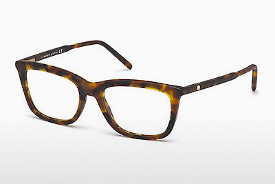 Eyewear Mont Blanc MB0553 052 - Brown, Dark, Havana