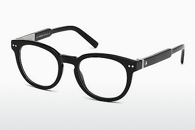 Eyewear Mont Blanc MB0619 001 - Black, Shiny