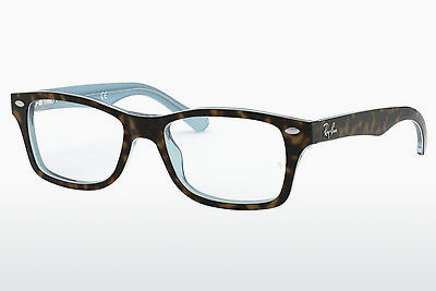 चश्मा Ray-Ban Junior RY1531 3701 - कत्थई, हवाना, नीला