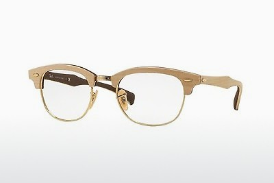 Eyewear Ray-Ban CLUBMASTER (RX5154M 5558) - Brown, Maple