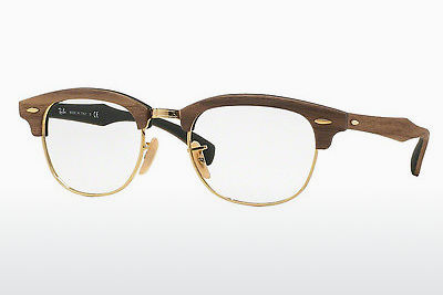 Eyewear Ray-Ban CLUBMASTER (RX5154M 5561) - Brown, Walnut