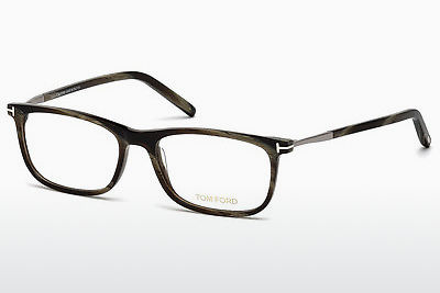 चश्मा Tom Ford FT5398 061 - हरा, Horn