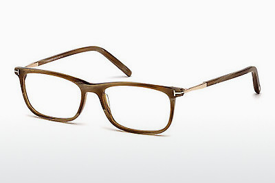 चश्मा Tom Ford FT5398 062 - कत्थई, Horn, Ivory