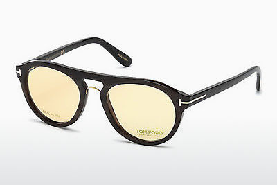 Eyewear Tom Ford FT5438-P 64E - Horn, Horn, Brown