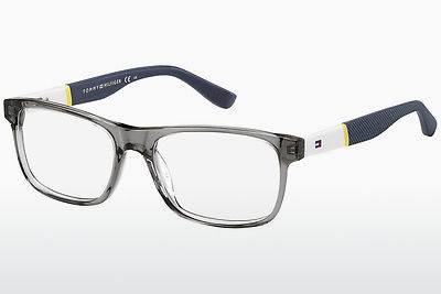 चश्मा Tommy Hilfiger TH 1282 FNV - सलेटी, सफ़ेद, पीला, नीला