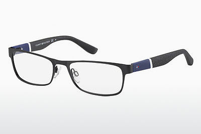 चश्मा Tommy Hilfiger TH 1284 FO3 - काला, नीला, सफ़ेद, सलेटी