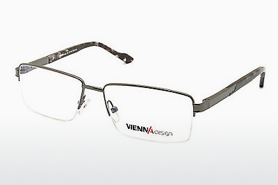 Eyewear Vienna Design UN437 02 - Grey, Gunmetal