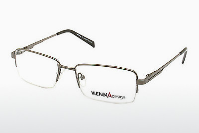 Eyewear Vienna Design UN443 01 - Grey, Gunmetal