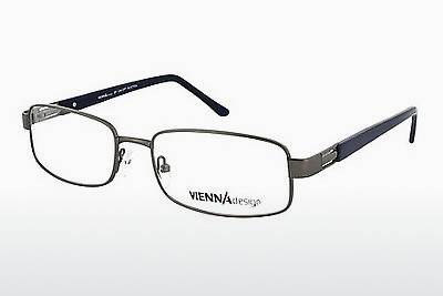 Eyewear Vienna Design UN518 01 - Grey, Gunmetal