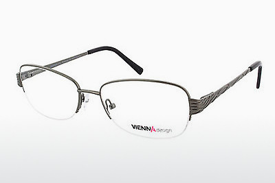 Eyewear Vienna Design UN595 02 - Grey, Gunmetal