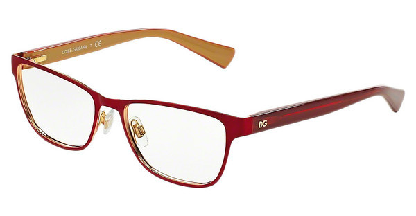 Dolce & Gabbana DG1273 1270 TOP RED ON GOLD