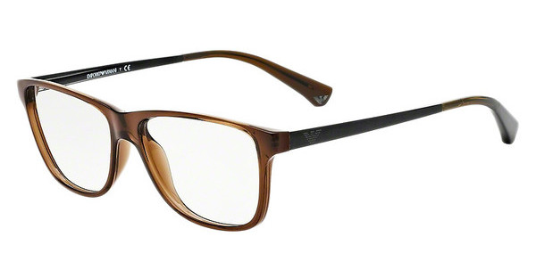 Emporio Armani EA3025 5073 BROWN TRANSPARENT