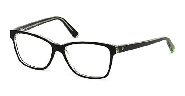 Web Eyewear WE5182 003 schwarz/kristall