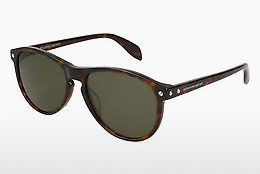 Ophthalmic Glasses Alexander McQueen AM0098S 002 - Brown, Havanna