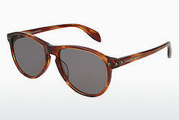 Ophthalmic Glasses Alexander McQueen AM0098S 004 - Brown, Havanna