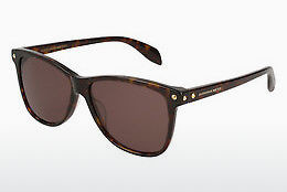 Ophthalmic Glasses Alexander McQueen AM0099S 002 - Brown, Havanna