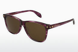 Ophthalmic Glasses Alexander McQueen AM0099S 003 - Brown, Havanna