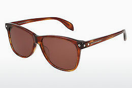 Ophthalmic Glasses Alexander McQueen AM0099S 004 - Brown, Havanna