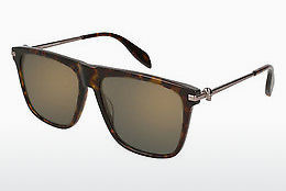 Ophthalmic Glasses Alexander McQueen AM0106S 003 - Brown, Havanna