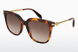 Ophthalmic Glasses Alexander McQueen AM0107S 002 - Brown, Havanna