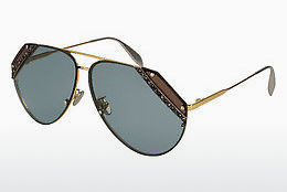 Ophthalmic Glasses Alexander McQueen AM0117S 003 - Gold