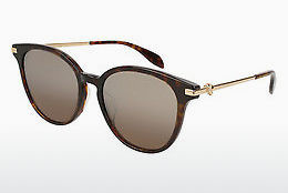 Ophthalmic Glasses Alexander McQueen AM0122SK 002 - Brown, Havanna